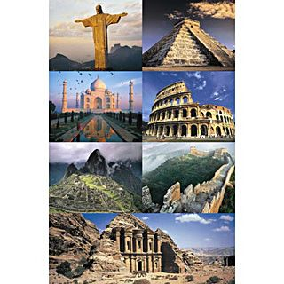 The 7 New Wonders Of The World 1
