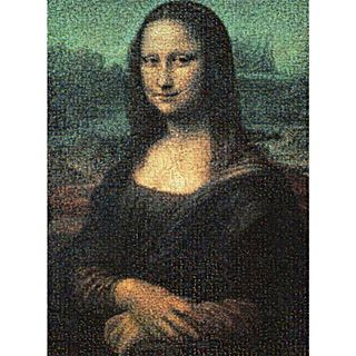 Mona Lisa Photo Mosaics
